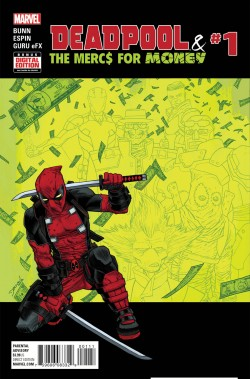 Deadpool Mercs for Money #1 cover