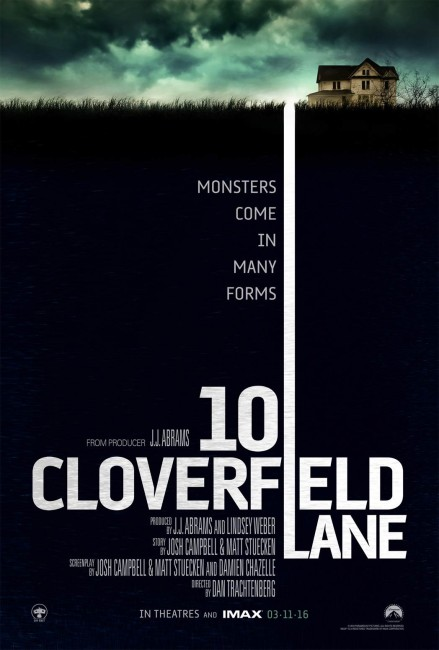 10 Cloverfield Lane Theatrical Poster