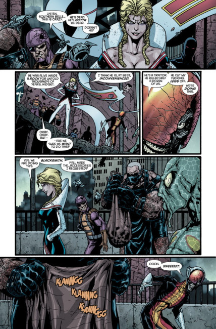 Surviving Megalopolis #1 page